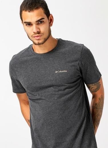 Columbia Columbia CS0002 Csc Basic Ss Erkek    T-Shirt Siyah